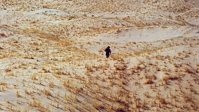 Jim Mangan și straturile deșertului din Utah