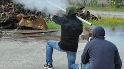 Pasando el rato con los mineros cabreados de Asturias