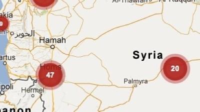 El uso de Twitter y Google para luchar contra las violaciones en Siria