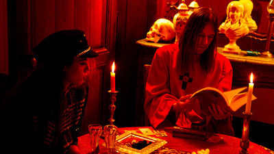 Brian Butler and Paz de la Huerta on 'Babalon Working'