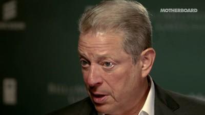 Das Internet als Waffe gegen den Klimawandel - Al Gore im Videointerview