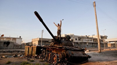Dodging Bullets with Syrian Rebels Who Love Soccer and Adolf Hitler