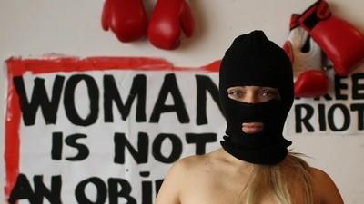 El sextremismo de Femen en París