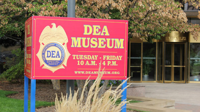 I Went to the Drug Enforcement Administration's Shitty Museum