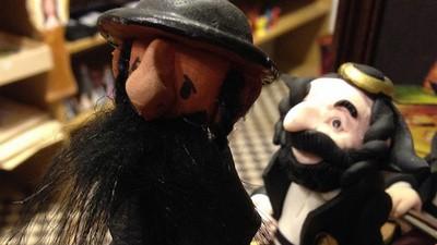 Polonia y figurines judíos