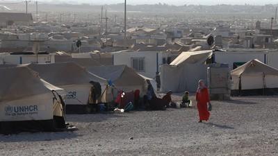 Syrie - Le camp de réfugiés de Zaatari