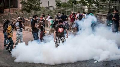 Turquie - Les manifestants de la place Taksim