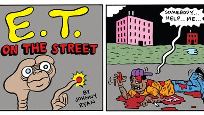 E.T. on the street