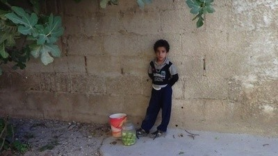 Trapped in a Town Under Siege: Syrian Children Are Eating Leaves to Survive