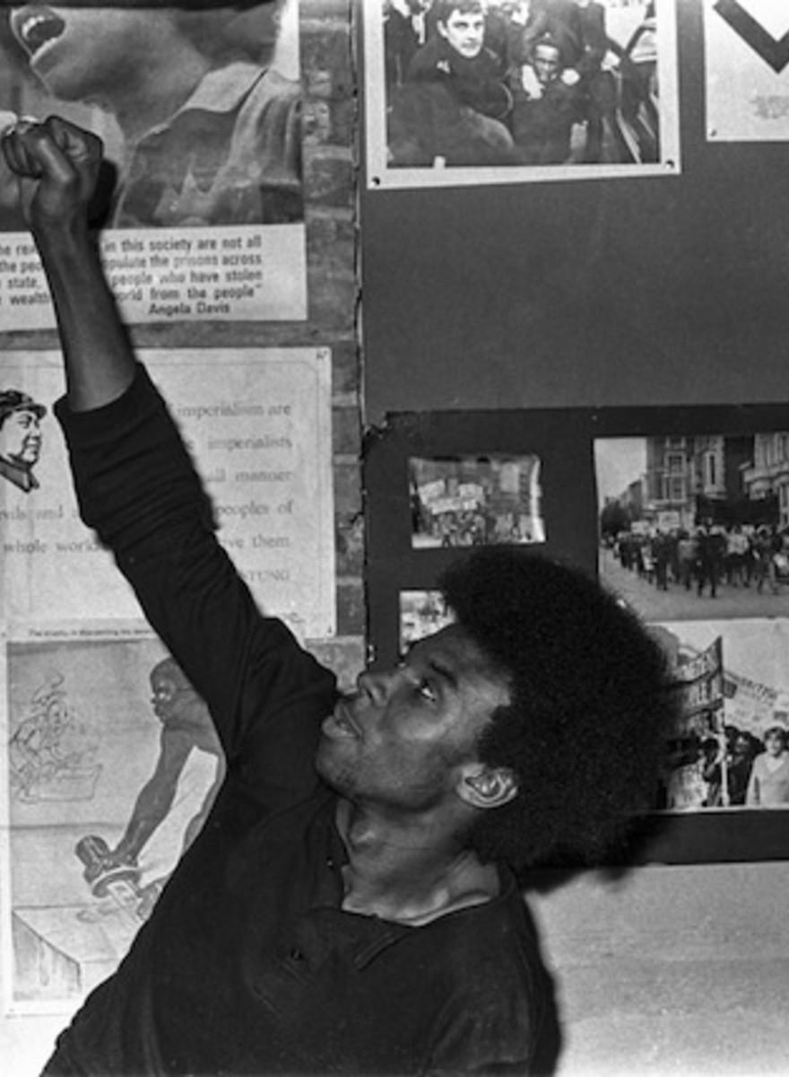 Beelden van de Britse Black Panthers