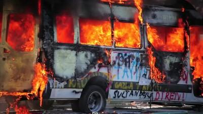 Die Proteste in Istanbul eskalieren in Gewalt