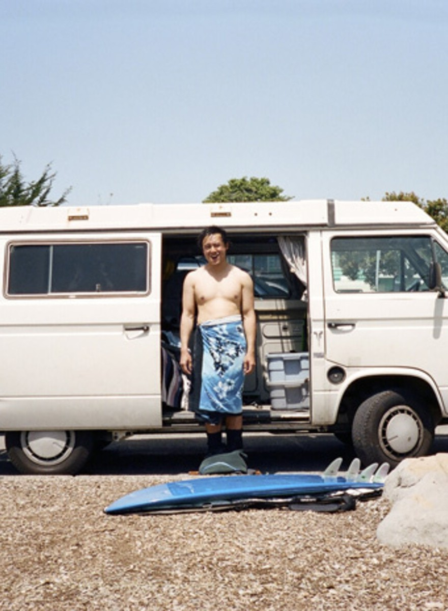 Foster Huntington Stopped Working for the Man and Started Living in a Van