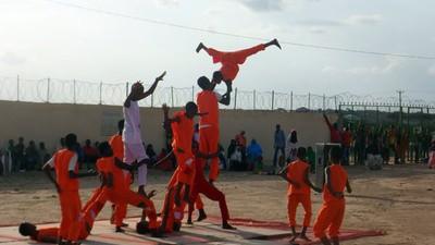Los artistas cirqueros de Somalilandia son acróbatas con una misión