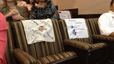 Las mujeres que nos hacen falta visitan el congreso de Sonora