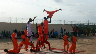De circusartiesten van Somaliland hebben een missie