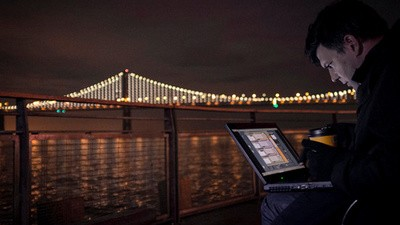 Behind the Scenes of Leo Villareal's Monumental Light Sculpture 'The Bay Lights'