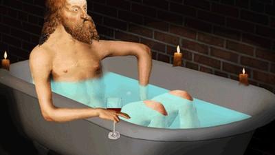 Warum Moses glückselig in seine Badewanne furzt