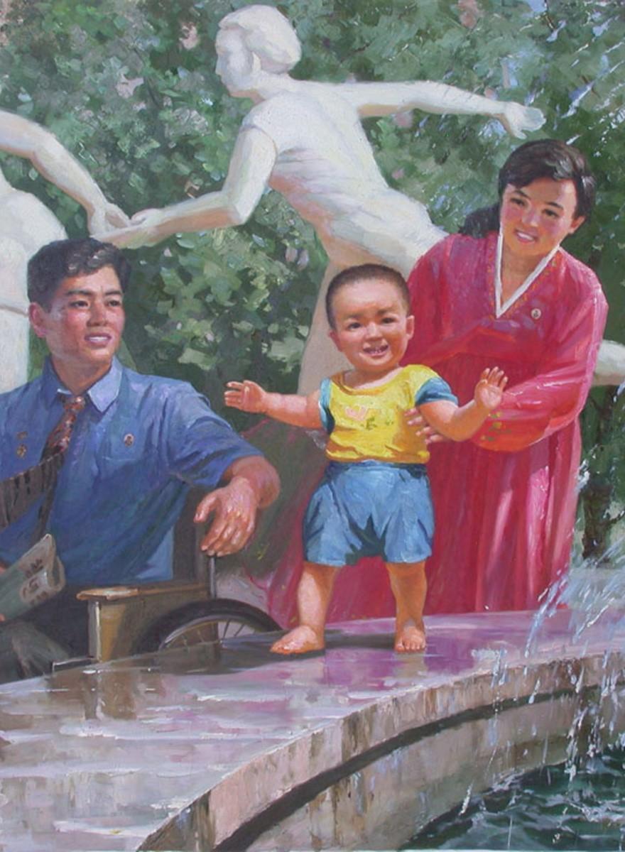 L'arte nordcoreana del Mansudae