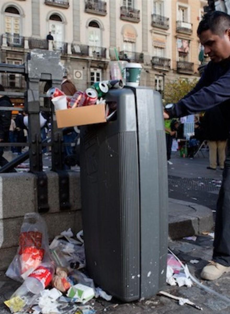 La mierda se nos come en Madrid