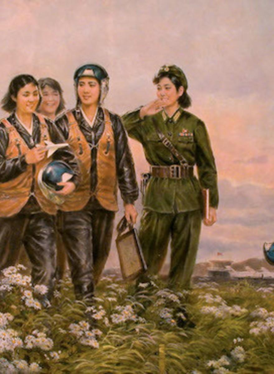 Mansudae: arte del estudio más grande de Corea del Norte