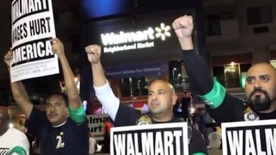The LAPD Just Broke the Record for Arresting Walmart Protestors