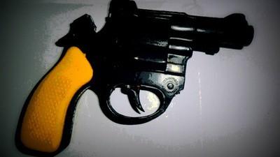 El gesto infantil del narco mexicano