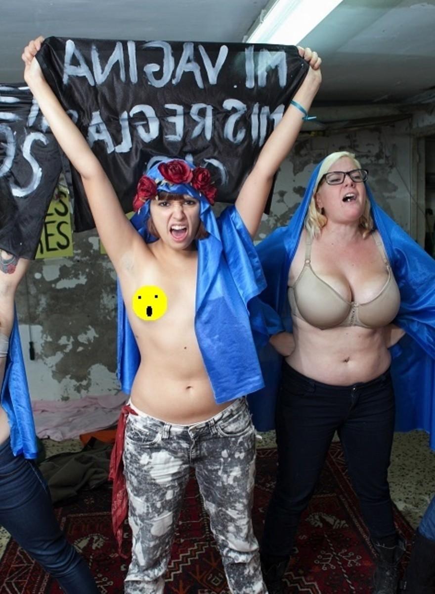 Pasamos la noche con FEMEN