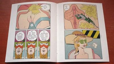 Traemos imágenes del mundo del cómic alternativo desde Brooklyn