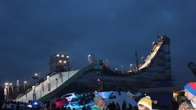 Ein guter Snowboard-Contest braucht mehr als eine große Rampe