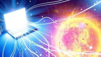 ¿Puede el cambio de polaridad del Sol destruir internet?