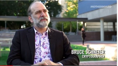 Death and the NSA: Motherboard Meets Bruce Schneier