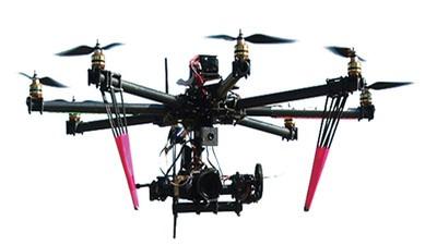 Deze drone bestrijdt kippenuitbuiting