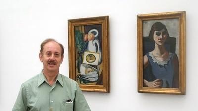 Dieser Mann hat sein Bild bei Gurlitt wiedergefunden