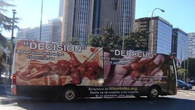¿Te da miedo el bus antiabortista?