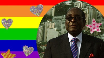 Sadly, Robert Mugabe Doesn't Have a Gay Son