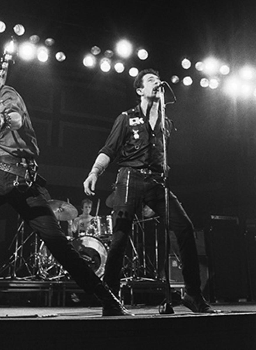 Bob Gruen tocó la trompeta en The Clash y retrató a la realeza del rock