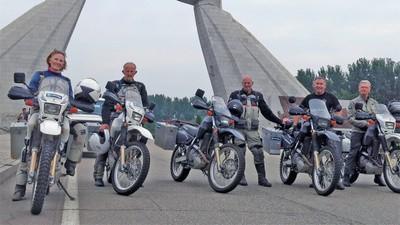 Jurnal de motociclist în Coreea de Nord