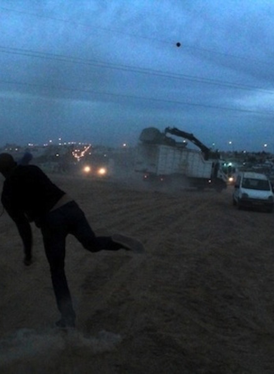 Bedouins in Israel Are Being Driven from Their Land with Tear Gas and Water Cannons