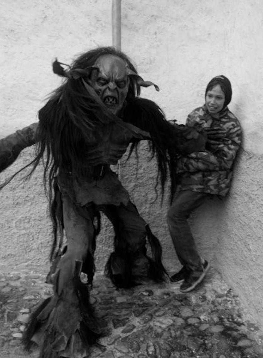 Los demonios secuestradores de niños vuelven a aterrorizar los Alpes