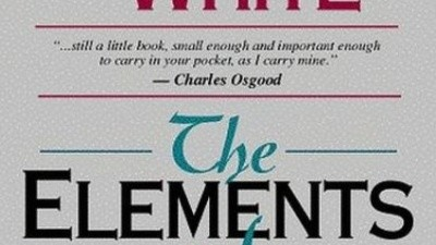 Strunk and White's 'The Elements of Style': Verbing Some Guy Named Peter