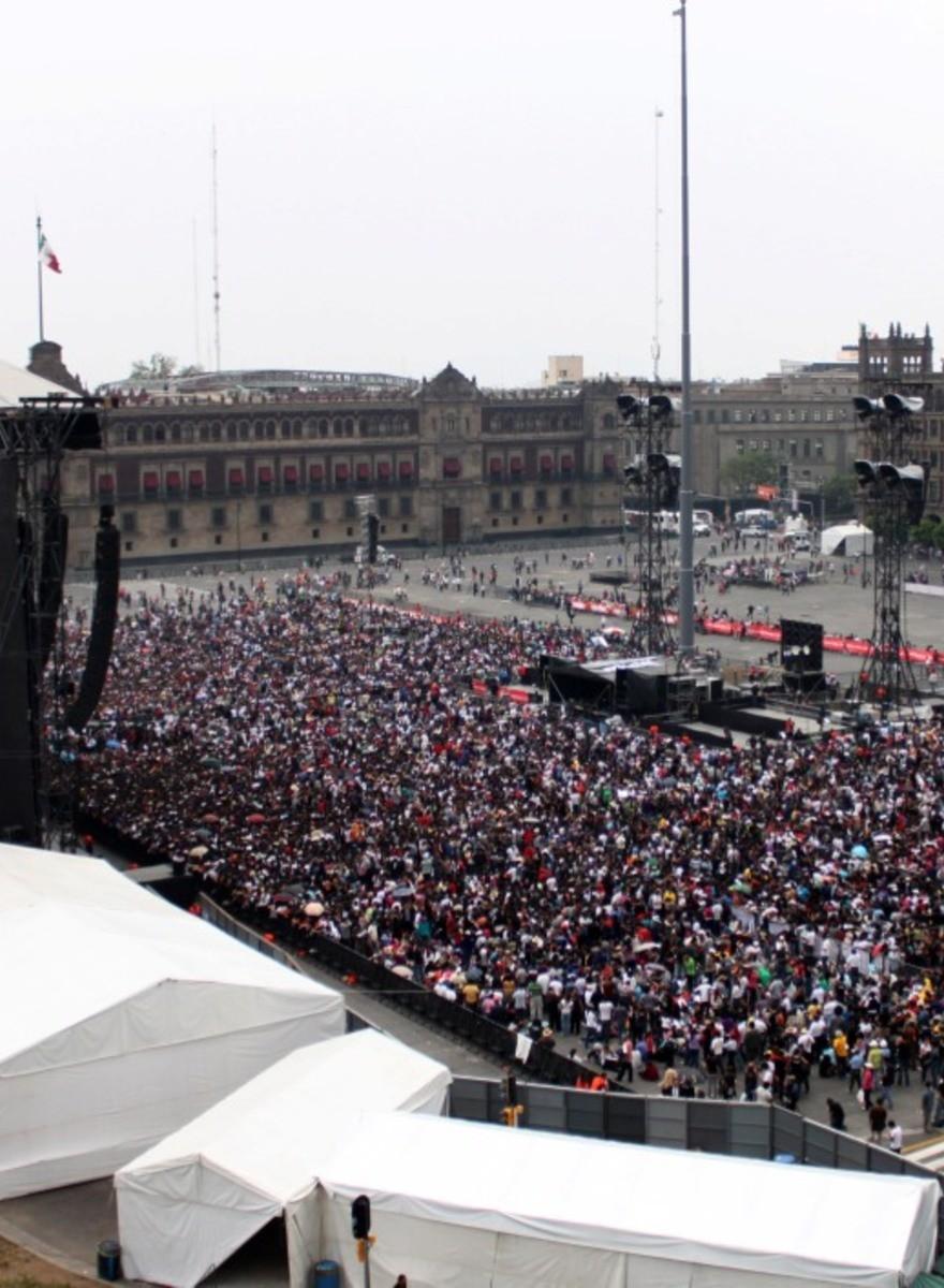 Platicamos con los fans de hueso colorado de Paul McCartney