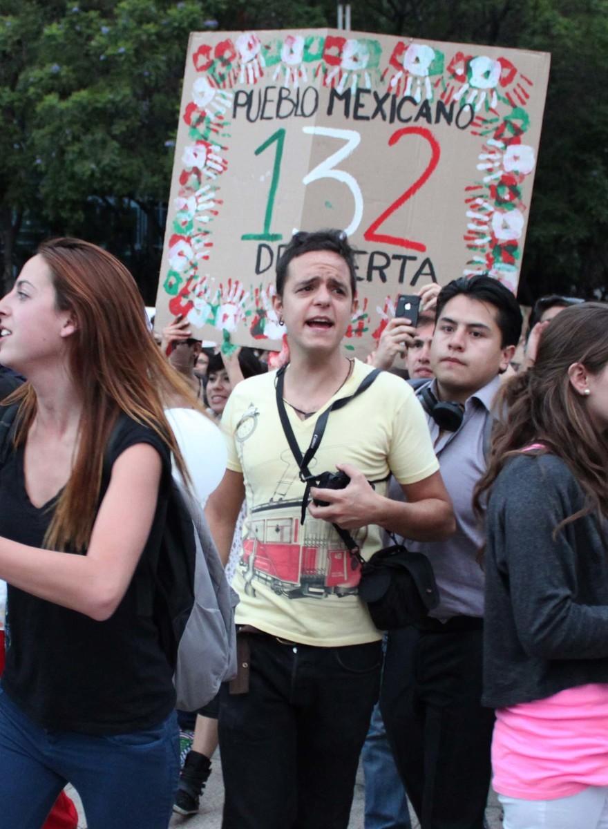Una tarde con el movimiento #YoSoy132