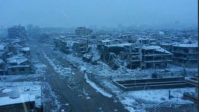 Diese Weihnachten können Syrer zwischen Tod durch Bomben oder Tod durch Kälte wählen