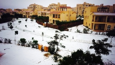 Snow in Cairo Is a Winter Nightmare
