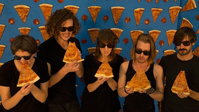 The Pizza Underground's Music Video Shoot Was a Delicious Success