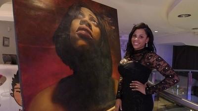 Latrice Jackson Paints Realist Portraits of Celebrities