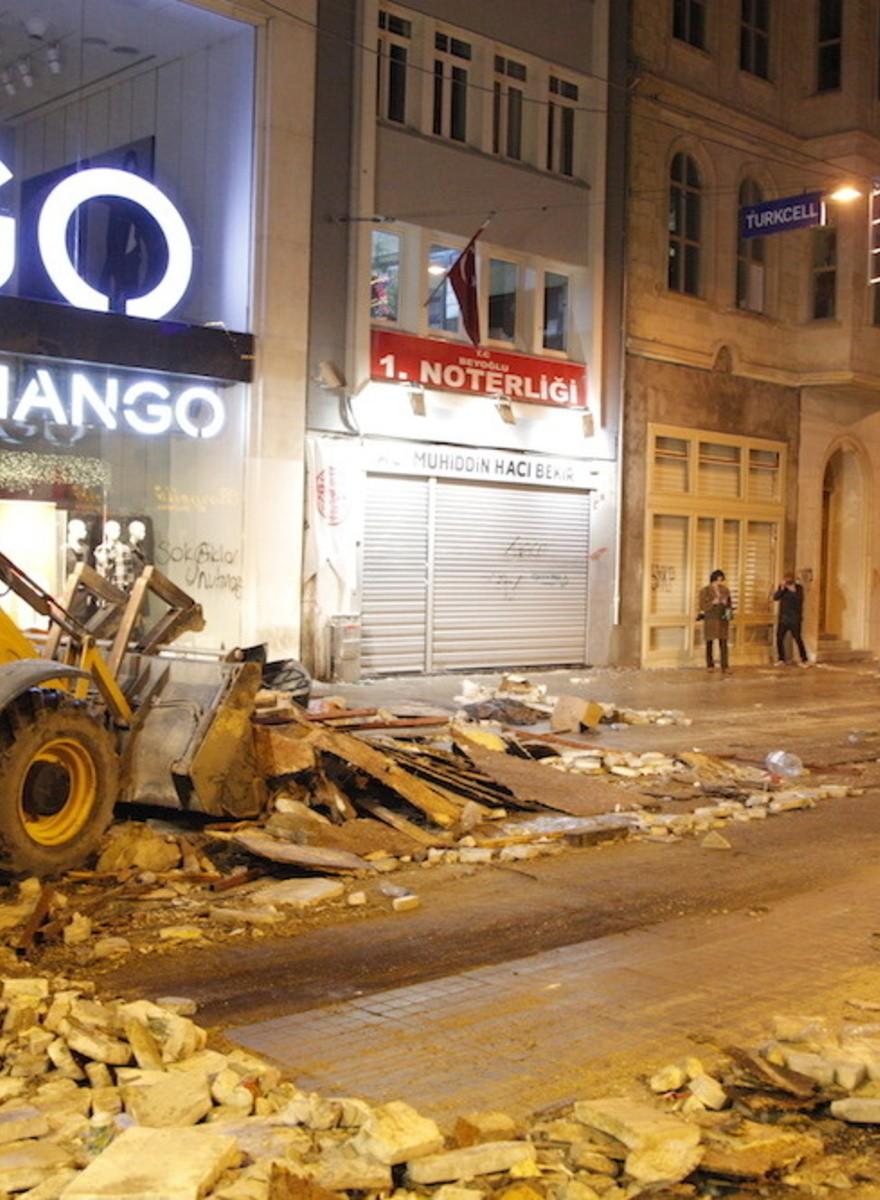 In Istanbul wurde Silvester vorgezogen