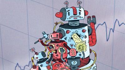 Wisten robots eerder dan wij dat er een financiële crisis aan zat te komen?