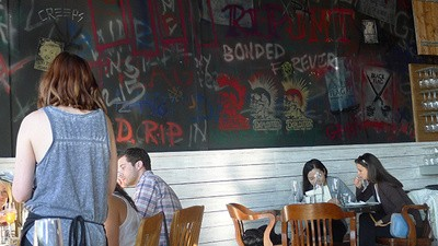 You Can Eat Brunch in Black Flag's Old Practice Space (If You're Terrible)