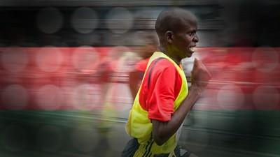 Corriendo con kenianos en Monterrey
